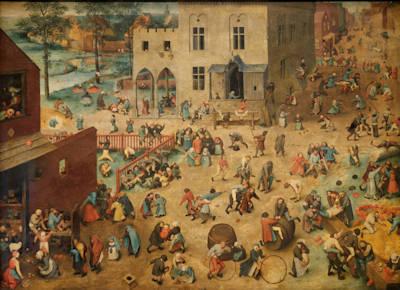 Brueghel l'Ancien - Jeux d'enfants